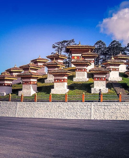 3 night 4 days Bhutan Tour image with a monasteries in Bhutan