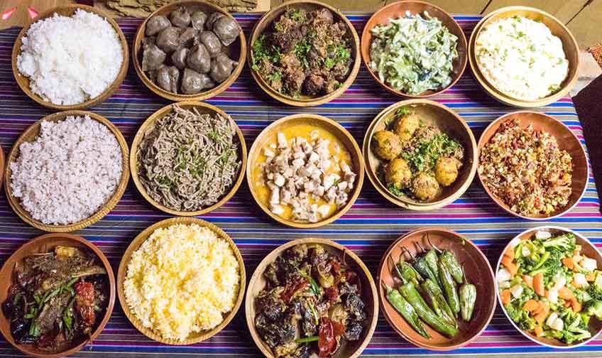 Bhutanese Food varieties