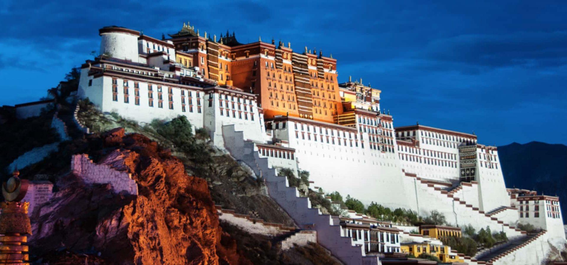 Lhasa Tibet Tour 4 Night 5 Days tour from Nepal