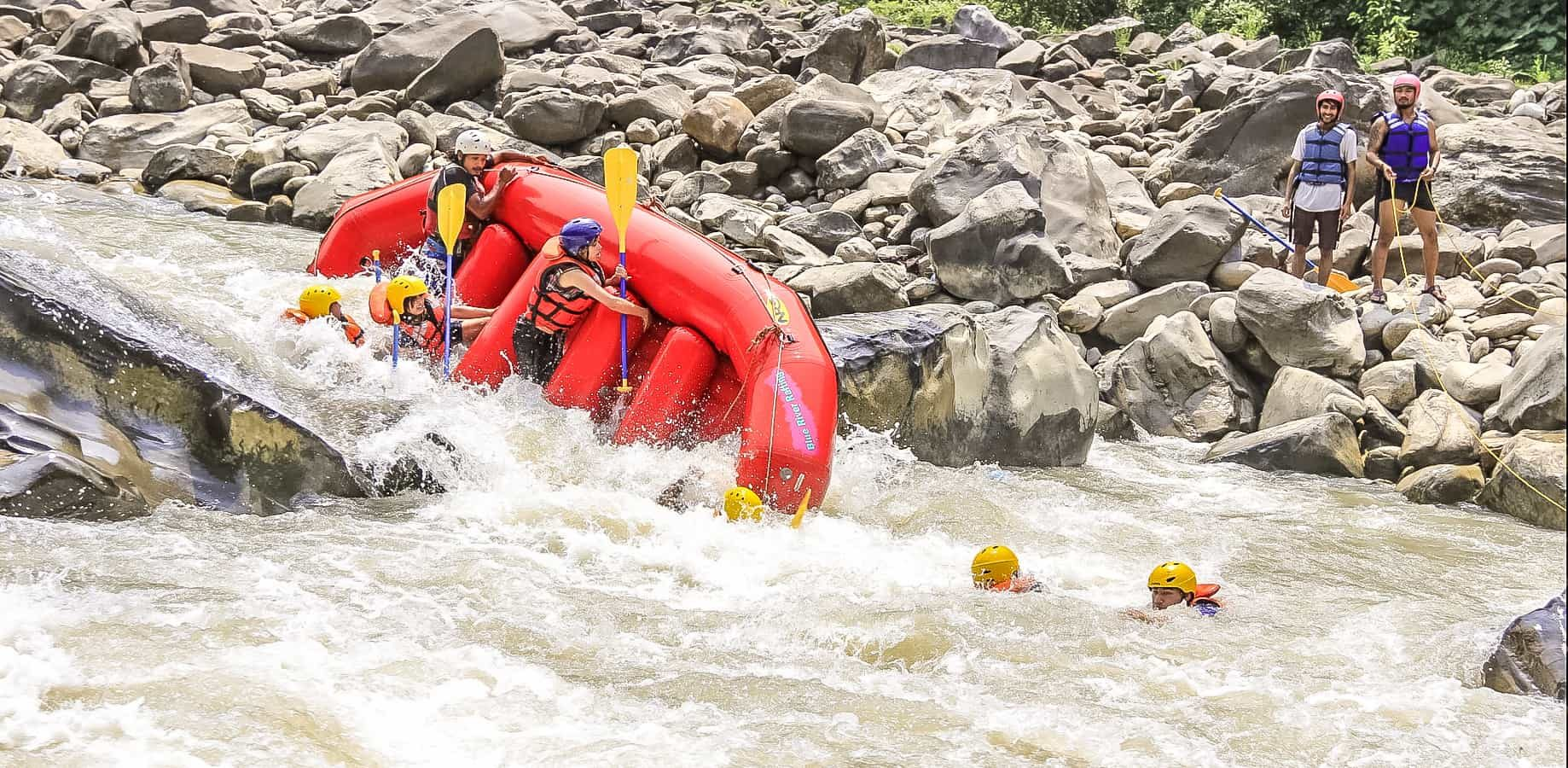 Bhotekoshi River Rafting in Nepal
