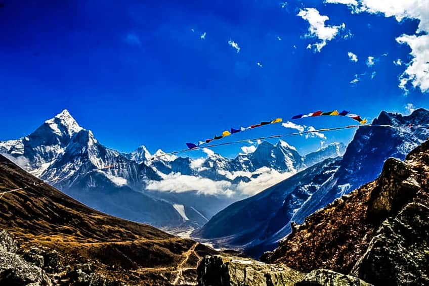 Trek to Mount Everest Base Camp to spend Christmas and New Year's Eve!