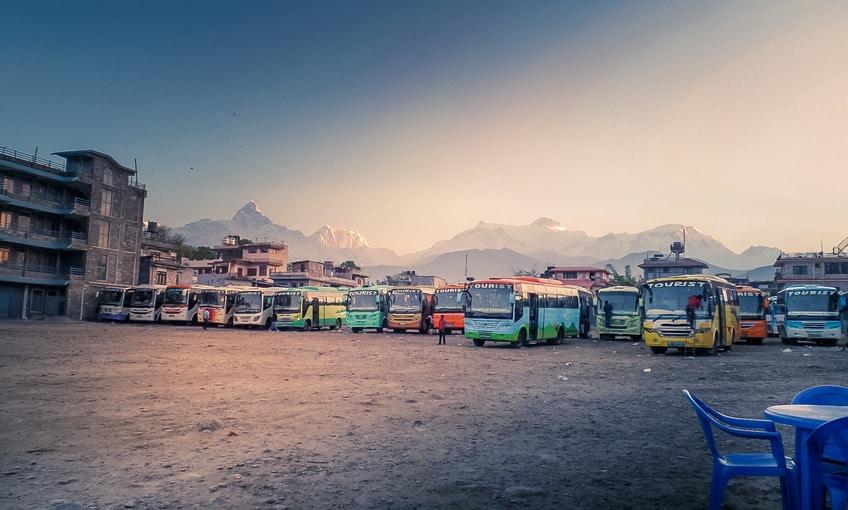 Kathmandu Pokhara Tourist Bust Station