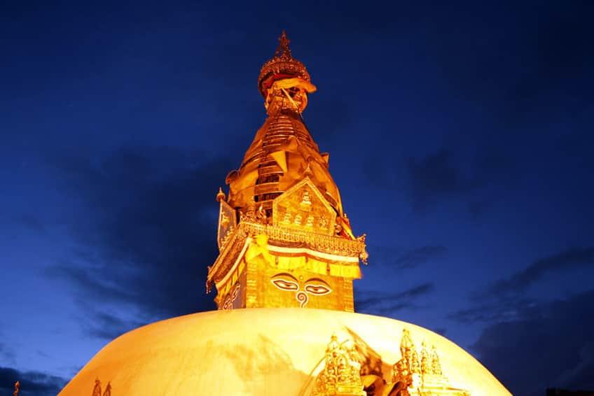Swoyambunath Stupa