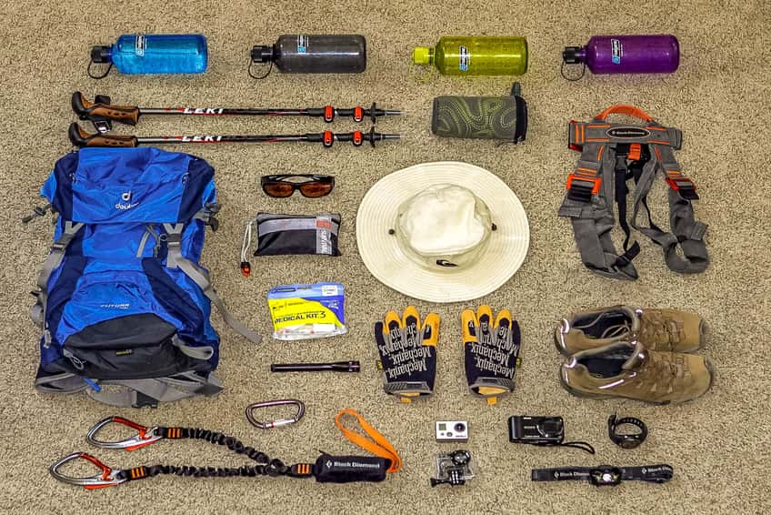 Trekking Checklist Equipment