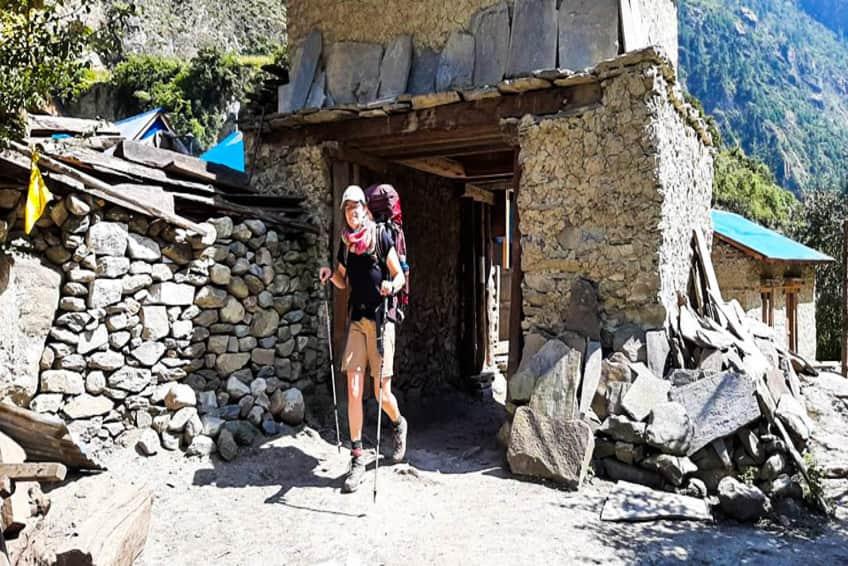 Trekking in Nepal in October