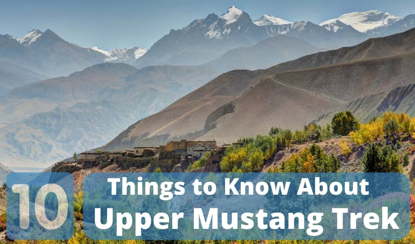 10 Things To DO in Upper Mustang