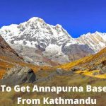 How to get Annapurna Base camp from Kathmandu feature image