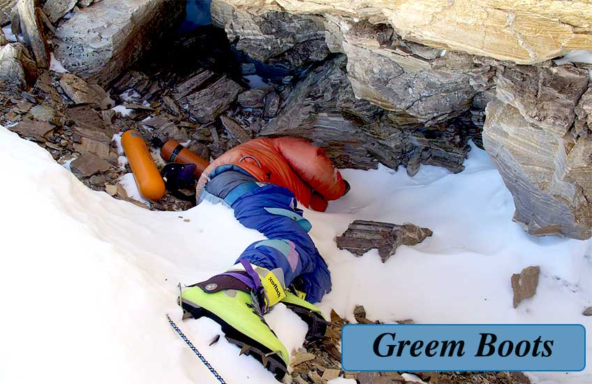 Green Boots Of Everest
